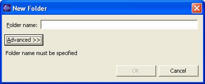 Setting Source Folders