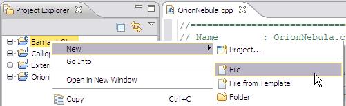 c++ how to create a list