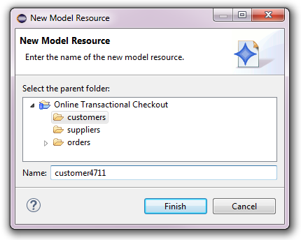Working with Folders and Resources (CDO Model Repository