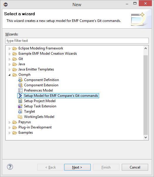 Git commands involving models