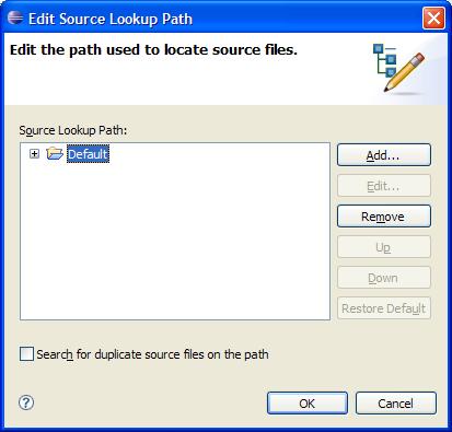 Edit Source Lookup