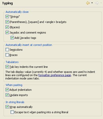 Tips and Tricks (JDT)