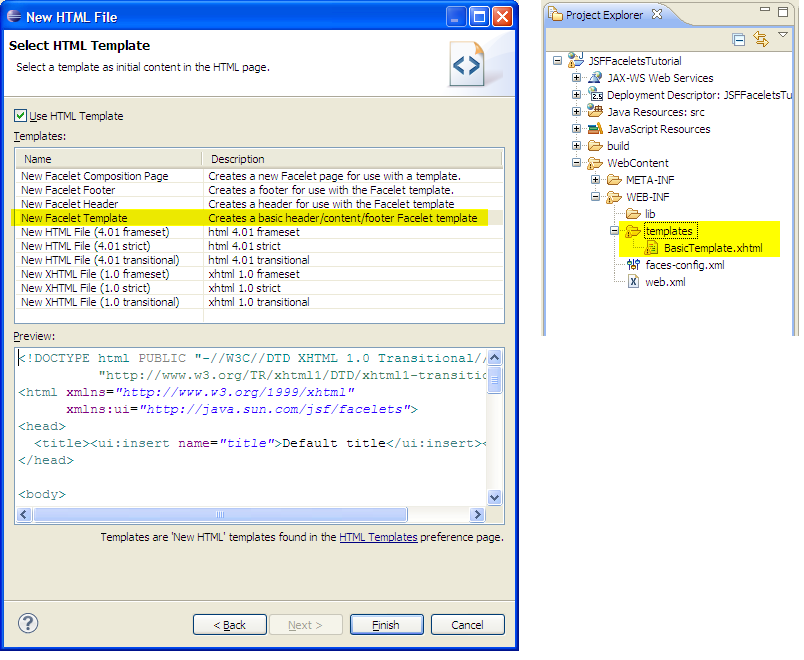 how to create tld file in eclipse