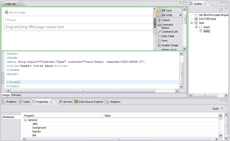 Wtp Tutorials Javaserver Faces Tools Tutorial