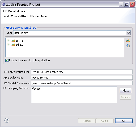 Create JSF Project