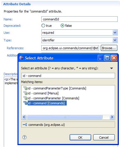 attribute definition list declaration in xml