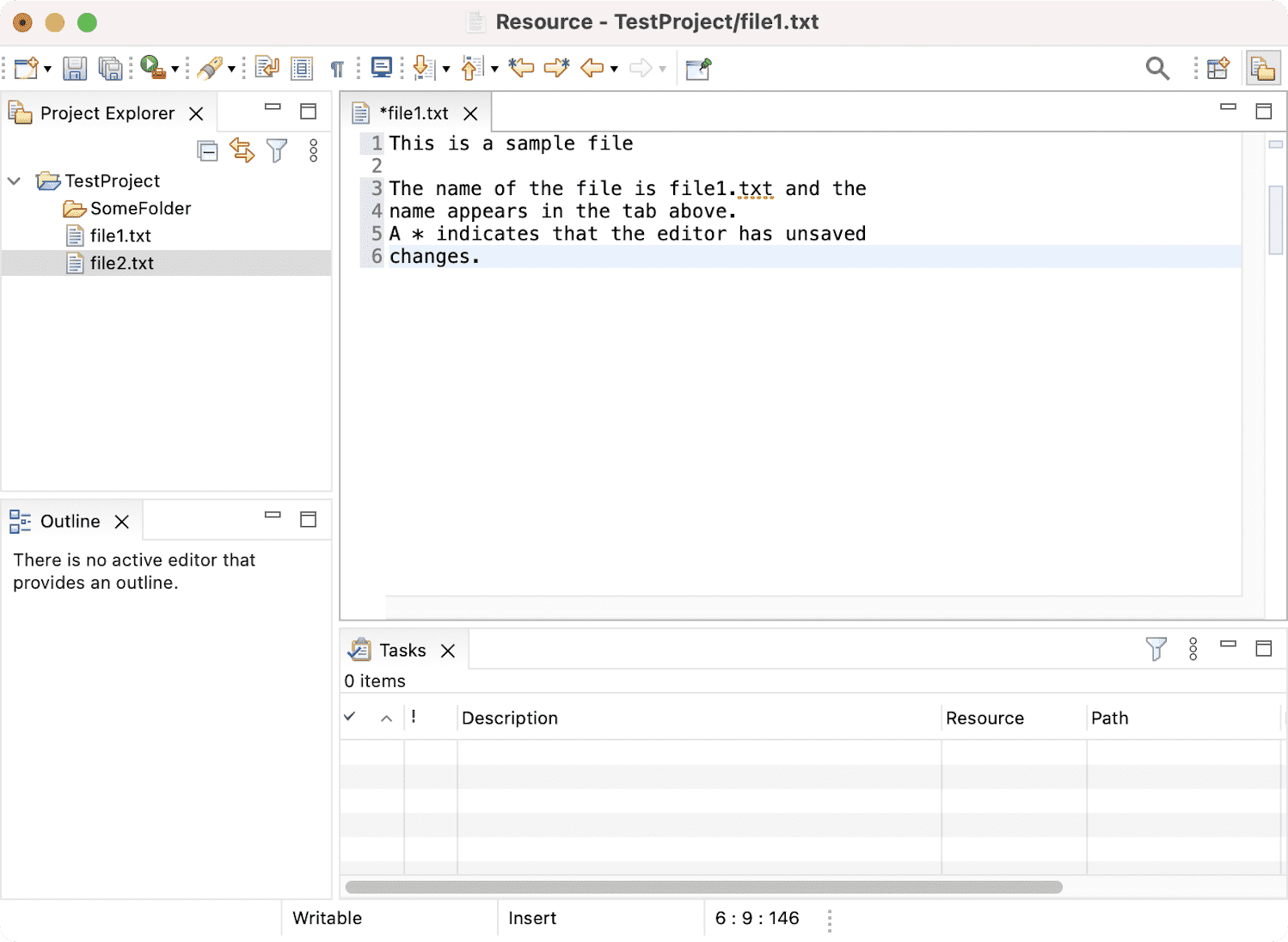 how to read and edit text file in java