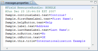 How to read external properties file in spring using.